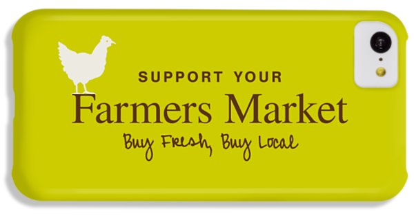 Farmers Market IPhone 5c Case by Nancy Ingersoll