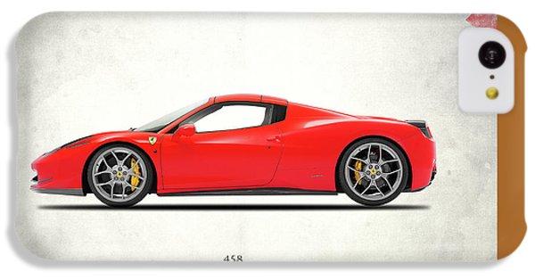 Ferrari 458 Italia IPhone 5c Case by Mark Rogan
