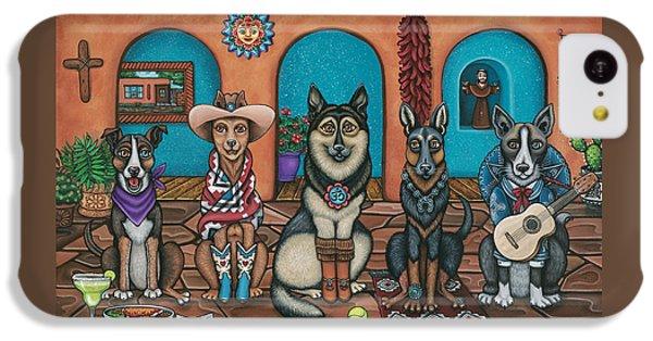 Fiesta Dogs IPhone 5c Case by Victoria De Almeida
