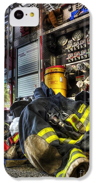 Fireman - Always Ready For Duty IPhone 5c Case by Lee Dos Santos