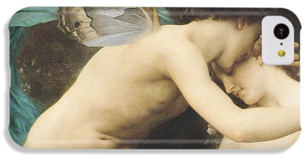 Flora And Zephyr IPhone 5c Case by William Adolphe Bouguereau