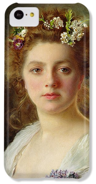 Flora IPhone 5c Case by Gustave Jacquet