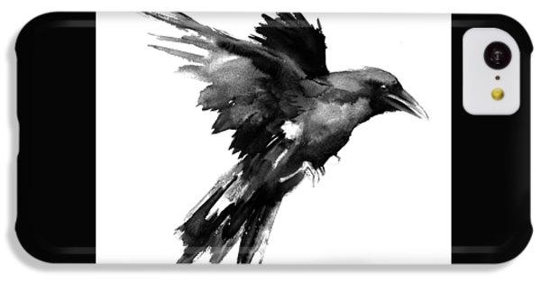 Flying Raven IPhone 5c Case by Suren Nersisyan