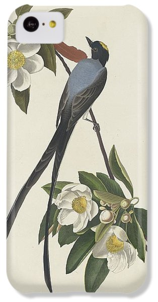 Forked-tail Flycatcher IPhone 5c Case by John James Audubon