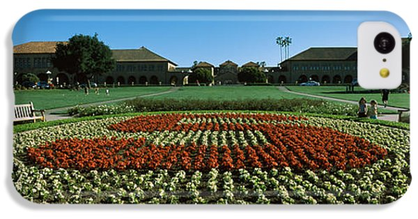 Formal Garden At The University Campus IPhone 5c Case by Panoramic Images
