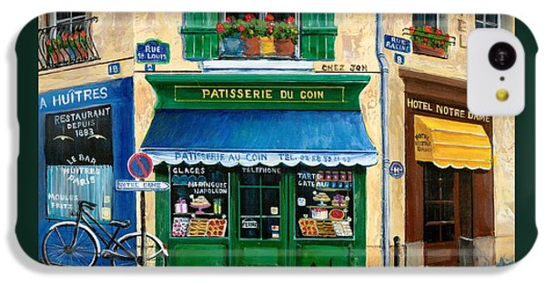 French Pastry Shop IPhone 5c Case by Marilyn Dunlap