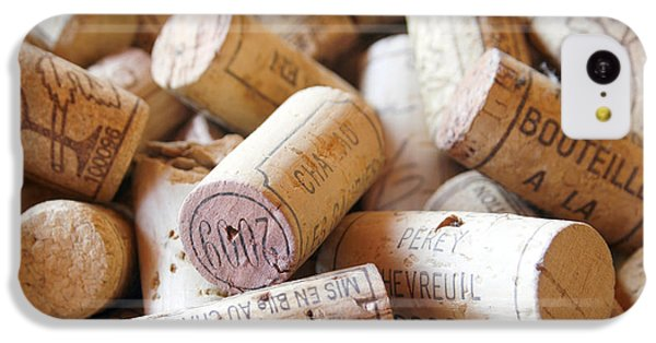 French Wine Corks IPhone 5c Case by Georgia Fowler