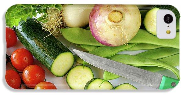 Fresh Vegetables IPhone 5c Case by Carlos Caetano