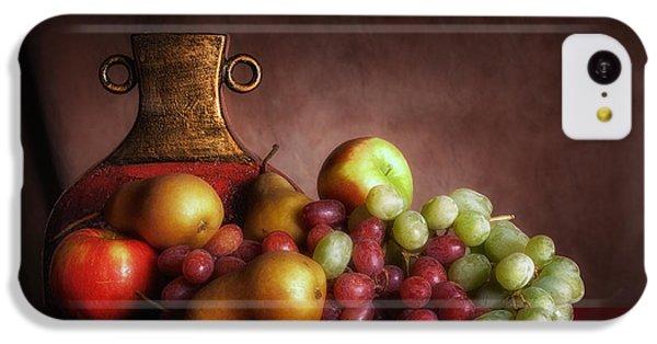 Fruit With Vase IPhone 5c Case by Tom Mc Nemar