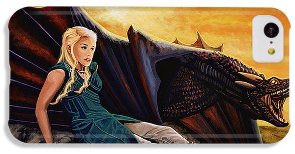 Game Of Thrones Painting IPhone 5c Case by Paul Meijering