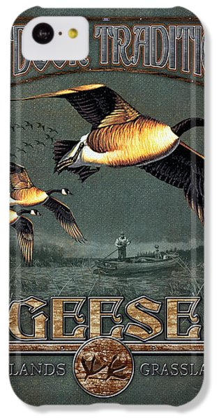 Geese Traditions IPhone 5c Case by JQ Licensing