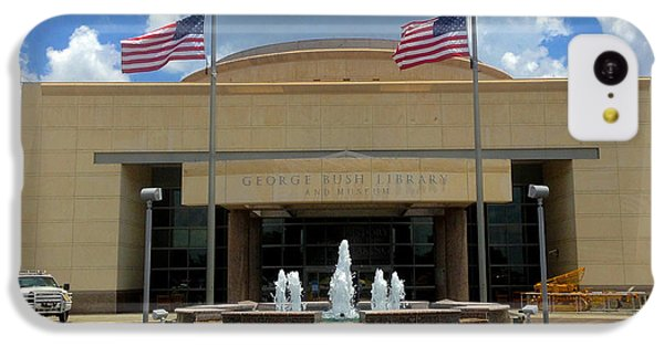 George Bush Library And Museum IPhone 5c Case by Art Spectrum