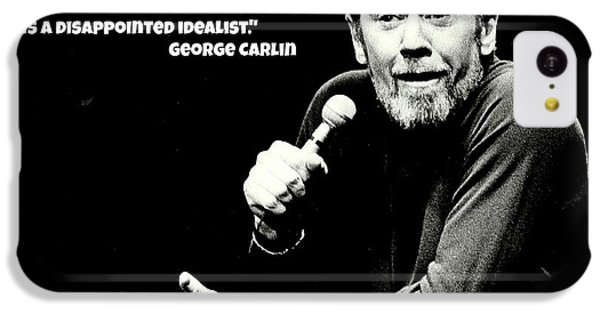 George Carlin Art  IPhone 5c Case by Pd