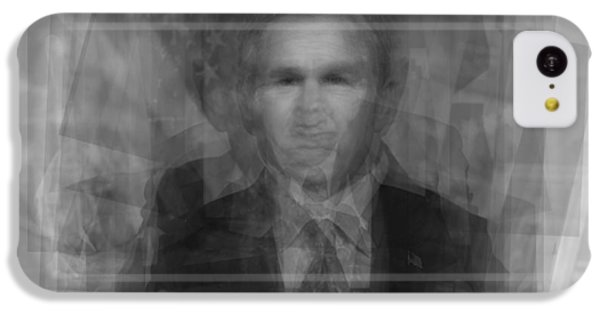 George W. Bush IPhone 5c Case by Steve Socha