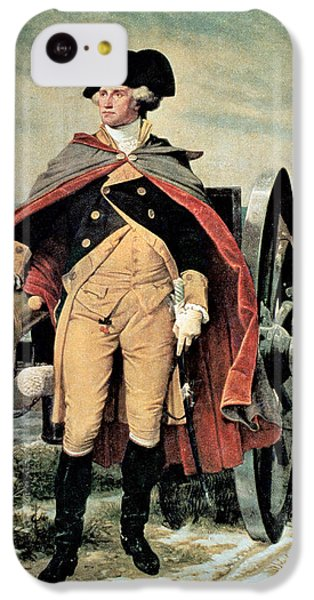 George Washington At Dorchester Heights IPhone 5c Case by Emanuel Gottlieb Leutze