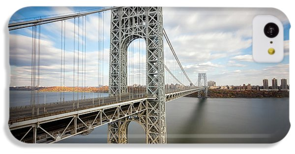 George Washington Bridge IPhone 5c Case by Greg Gard