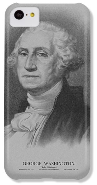 George Washington IPhone 5c Case by War Is Hell Store
