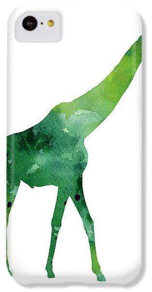 Giraffe African Animals Gift Idea IPhone 5c Case by Joanna Szmerdt
