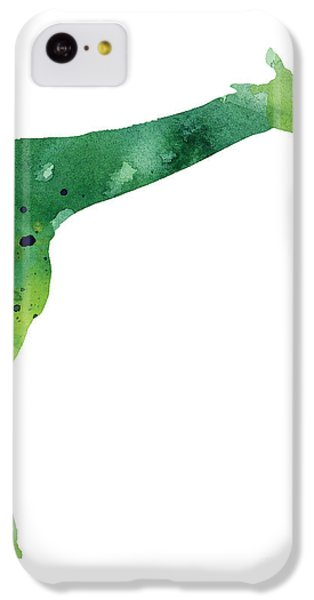 Giraffe Drawing Watercolor Art Print IPhone 5c Case by Joanna Szmerdt