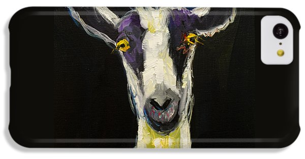 Goat Gloat IPhone 5c Case by Diane Whitehead
