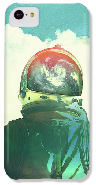 God Is An Astronaut IPhone 5c Case by Fran Rodriguez
