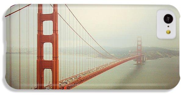 Golden Gate Bridge IPhone 5c Case by Ana V Ramirez
