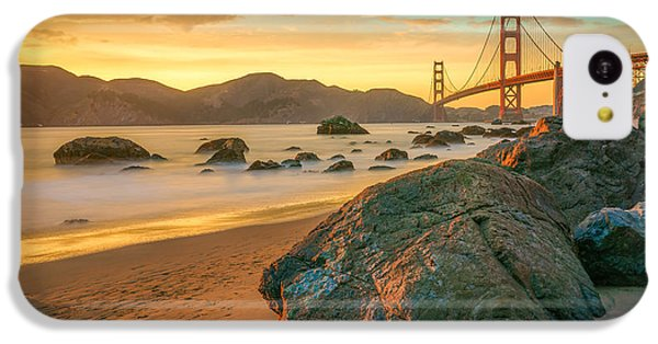 Golden Gate Sunset IPhone 5c Case by James Udall