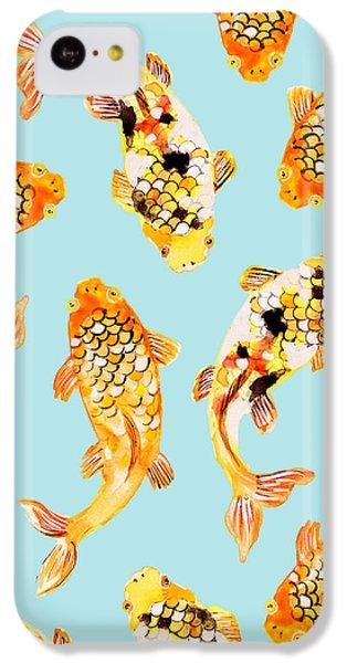 Goldfish IPhone 5c Case by Uma Gokhale