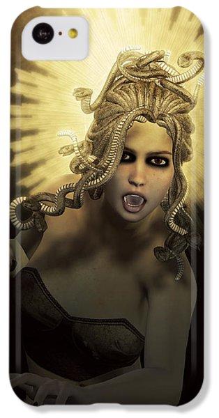 Gorgon Medusa IPhone 5c Case by Joaquin Abella