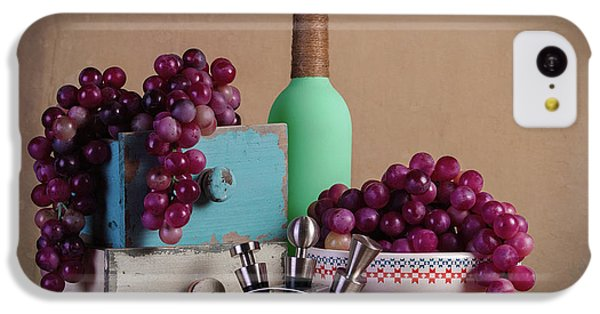 Grapes With Wine Stoppers IPhone 5c Case by Tom Mc Nemar