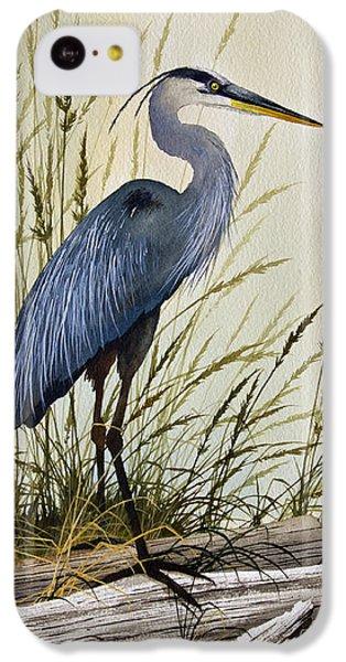 Great Blue Heron Splendor IPhone 5c Case by James Williamson