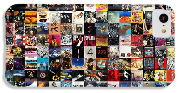 Greatest Album Covers Of All Time IPhone 5c Case by Taylan Apukovska
