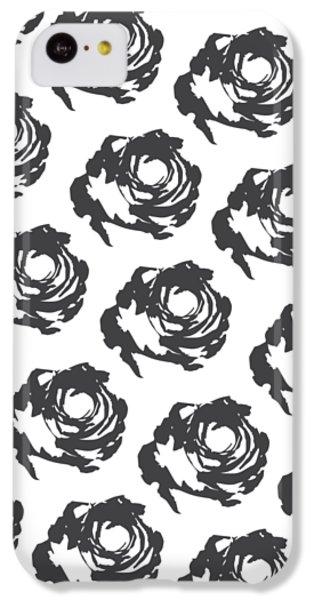 Grey Roses IPhone 5c Case by Cortney Herron