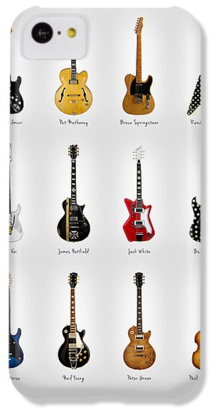 Guitar Icons No2 IPhone 5c Case by Mark Rogan