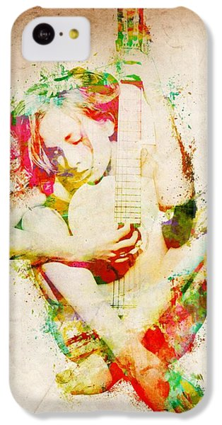 Guitar Lovers Embrace IPhone 5c Case by Nikki Smith