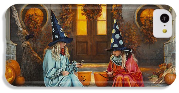 Halloween Sweetness IPhone 5c Case by Greg Olsen