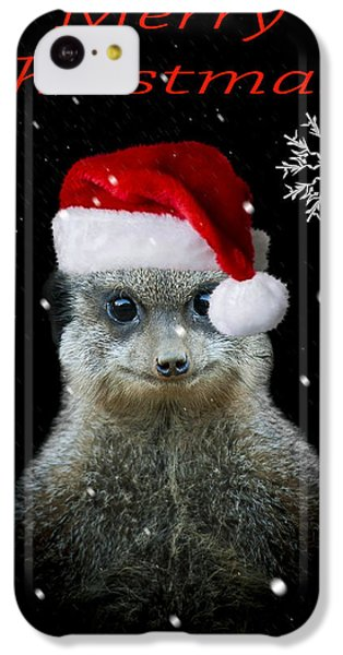 Happy Christmas IPhone 5c Case by Paul Neville