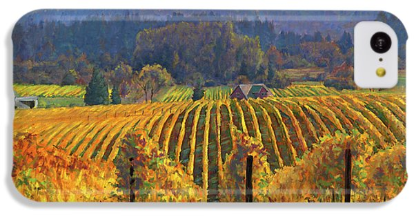 Harvest Gold IPhone 5c Case by Michael Orwick