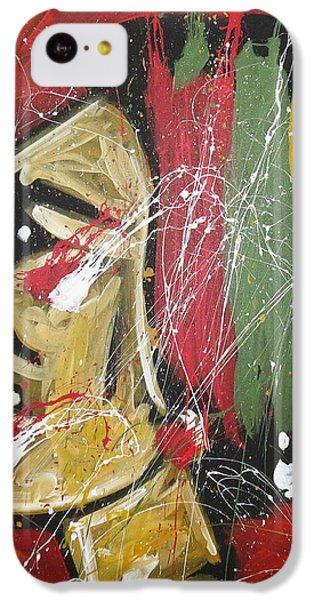 Hawks IPhone 5c Case by Elliott From