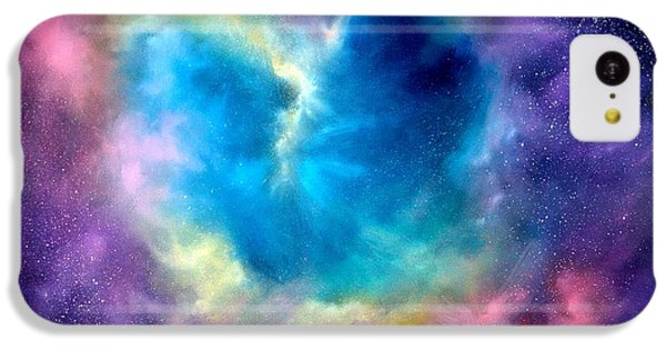 Heart Of The Universe IPhone 5c Case by Sally Seago