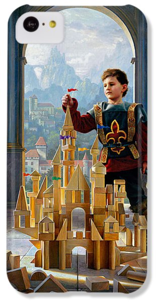 Heir To The Kingdom IPhone 5c Case by Greg Olsen