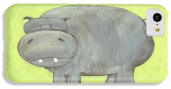 Herbert Hippo Nursery Art IPhone 5c Case by Katie Carlsruh