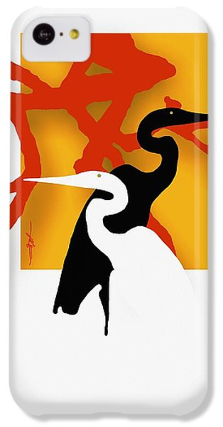 Herons  IPhone 5c Case by Bob Salo