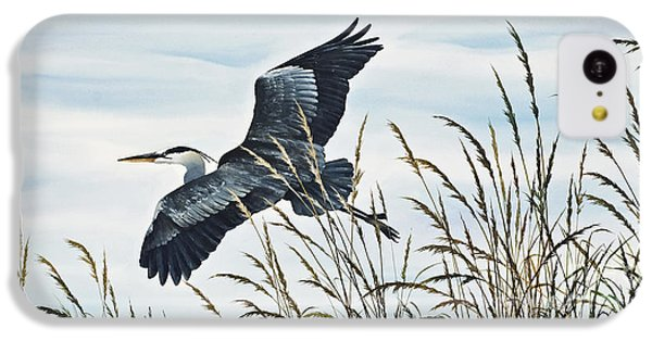Herons Flight IPhone 5c Case by James Williamson
