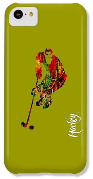 Hockey Collection IPhone 5c Case by Marvin Blaine