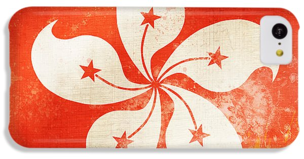 Hong Kong China Flag IPhone 5c Case by Setsiri Silapasuwanchai