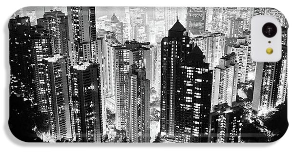 Hong Kong Nightscape IPhone 5c Case by Joseph Westrupp