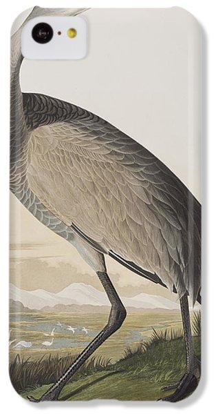 Hooping Crane IPhone 5c Case by John James Audubon