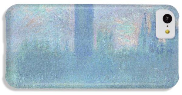 Houses Of Parliament  London IPhone 5c Case by Claude Monet