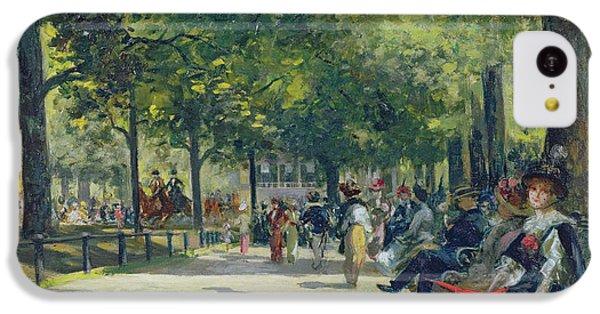 Hyde Park - London  IPhone 5c Case by Count Girolamo Pieri Nerli